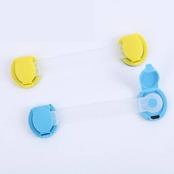 MyXL Drawer child or baby safety lock and be used for refrigerator lock(12pcs / lot) YYT203
