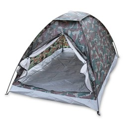 MyXL Outdoor Camping Strand Draagbare Tent voor 2 Persoon Enkele Laag Tenten Polyester PU1000mm Camouflage
