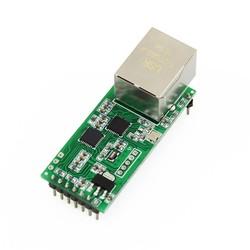 MyXL Q18042 USR-TCP232-T2 Tiny Seriële Ethernet Converter Module Seriële UART TTL naar Ethernet TCPIP Module Ondersteuning DHCP en DNS
