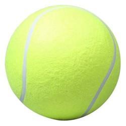 MyXL 24 CM Giant Tennisbal Voor Pet Chew Speelgoed Grote Opblaasbare Tennisbal Handtekening Mega Jumbo Huisdier Speelgoed Bal Levert Outdoor Cricket