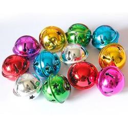 MyXL 30mm Mix Kleur 10 Stks/partij Kleine Jingle Bells Koper Bells Fit Festival Sieraden Decor Thuis Kerstversiering Levert