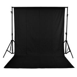 MyXL 150x300 cm Achtergronden Zwarte Kleur Geen Geweven Materiaal anti-rimpel Achtergrond voor Photo Studio Fotografie Achtergrond Apparatuur