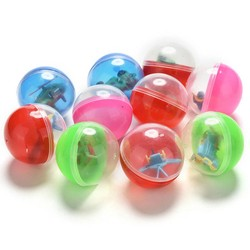 MyXL 10 Stks/partij Grappig Plastic Speelgoed Bal Dier In Shilly Ei Ballen Kinderen Kids Babies Games