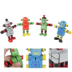 MyXL Houten Speelgoed Kleuter Robot Transformer