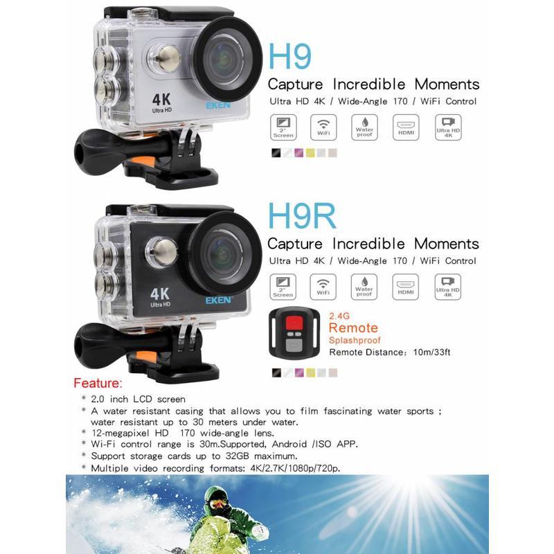 Eken H9 Action Camera 4K HD - Home