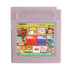 MyXL GBC Video Game Cartridge Console Card Compilaties Collection 93 In 1 Chinese Taal <br />  Nintendo