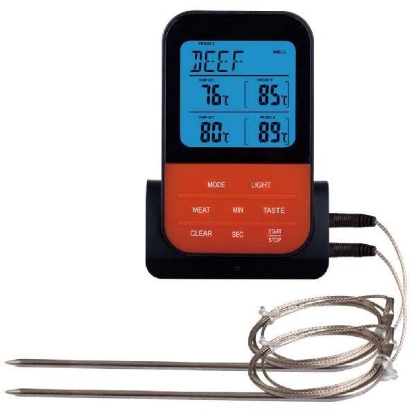 AsyPets Draadloze Waterdichte Digitale Koken Vlees Voedsel Thermometer voor Oven Grillen Roker BBQ-3