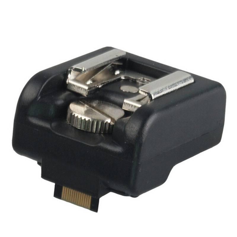 Shoe Hotshoe Adapter met pc poort Voor Sony Nex 3 5 7 Serie Camera Om voor Canon Nikon YongNuo Godox