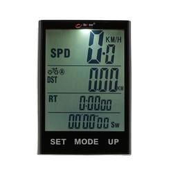 MyXL BOGEER Draadloze Fiets Computer Stopwatch met LCD Backlight voor Fietsen Riding Waterbestendig Fiets Snelheidsmeter Kilometerteller