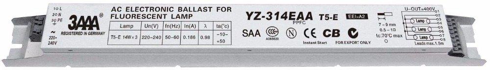 220 V ~ 240 V 3AAA Elektronische Ballast 3*14 W T5HO voor Reclame Licht Doos Aquarium Lamp Water Lam