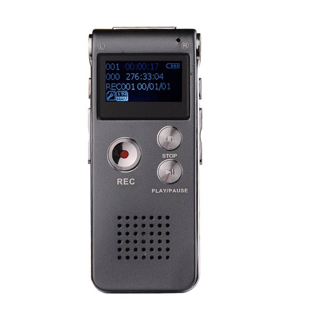 Voice Recorder 8 GBMini USB Flash Digital Audio Voice Recorder 650Hr Dictafoon Mp3-speler