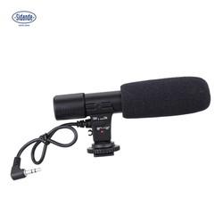 MyXL Overzeese Voorraad Sidande Mic-01 3.5mm Opname Microfoon Digitale SLR Camera Stereo Microfoon voor Canon Nikon Pentax Olympus