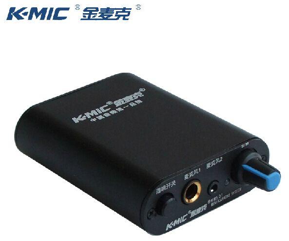 K-mic km501 twee kanalen microfoon versterker voor dynamische microfoon en condensator microfoon 6.5