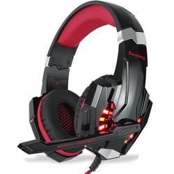 MyXL EasySMX G9000 Gaming Headset Hoofdtelefoon met Microfoon Stereo LED Verlichting Ruisonderdrukking voorXbox Een PS4 PC Gamer