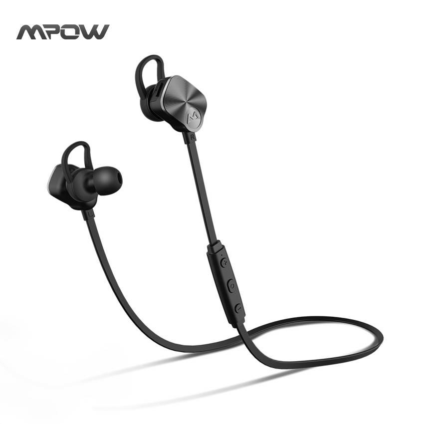 Originele MPOW Coach Draadloze Koptelefoon Bluetooth Hoofdtelefoon Zweet-proof Headsets w-HD Mic & C