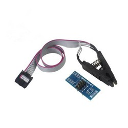 MyXL SOIC8 SOP8 Flash Chip IC Test Clips Socket Adpter BIOS/24/25/93 Programmeur