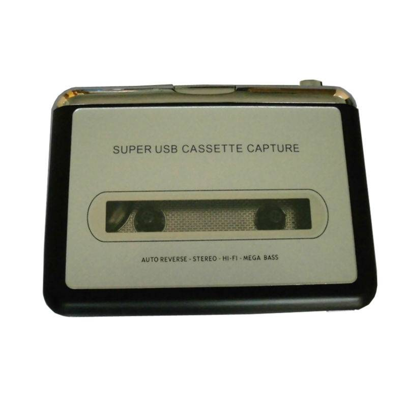 Super USB Cassette Capture Radio Speler Draagbare USB Cassette naar MP3 Converter Capture Adapter EC