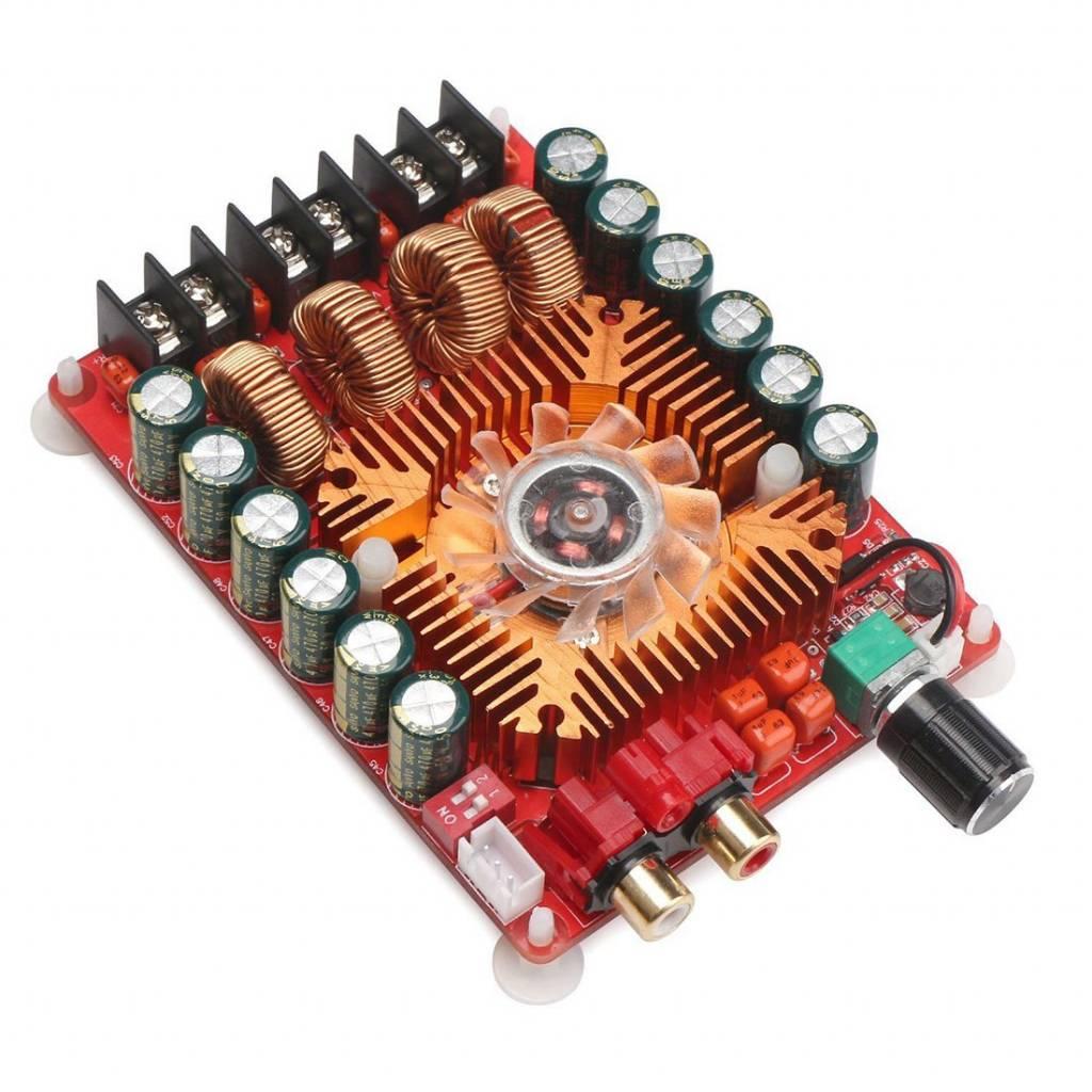 Assembled Tda7293 Dual Parallel 170w Btl Mono Audio Power Amplifier Usb Booster Circuit Tda7498e 2x160 W Channel Versterker Boord Ondersteuning Modus 1x220 Single