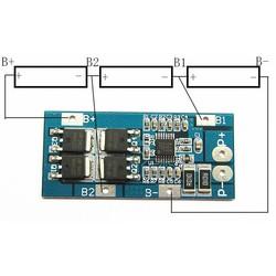 MyXL 3 S 20A 18650 Ion Lithium Batterij Oplader Bescherming Boord 10.8 V 11.1 V 12 V 12.6 V Elektrische 10A Lipo BMS PCB PCM Module