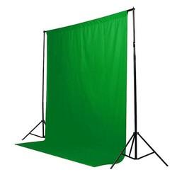 MyXL Green Screen Chromakey Achtergrond Muslin Video Foto Achtergrond Fotografie Studio Achtergrond Katoen Foto Verlichting 1.8x2.7 m