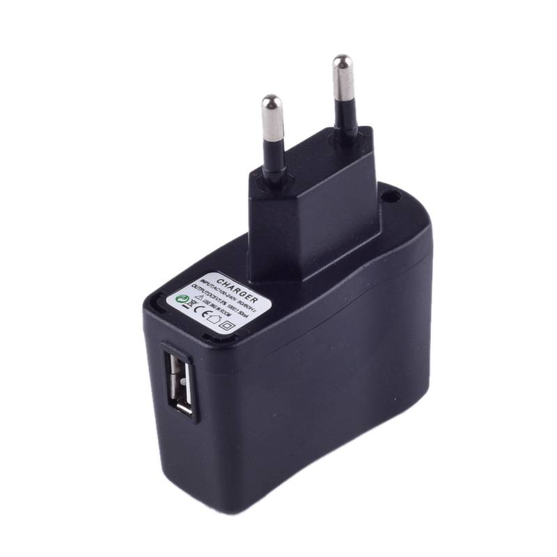 EU US Plug 5 V 0.5A Power Adapter AC 5 V 500mA Charger Stroomvoorziening Universele USB Interface
