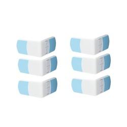 MyXL 6 PACS Baby Veiligheid 6 Stks Kind Lock Kast Ladekast Koelkast Wc Deur Closet Plastic Sloten Kind Veiligheid LockCare