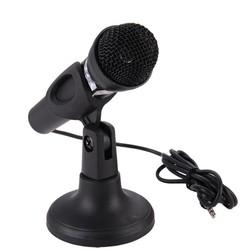 MyXL Microfoon voor Computer Bedrade Handheld Professionele Mic Condensator Microfoon met Microfoon Houder/Stand Voor PC Computer