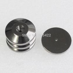 MyXL Diepe Geluid 4 STKS Zilveren Speaker Spike Base Pads CD Versterker Isolatie hifi Floor Stand Voeten