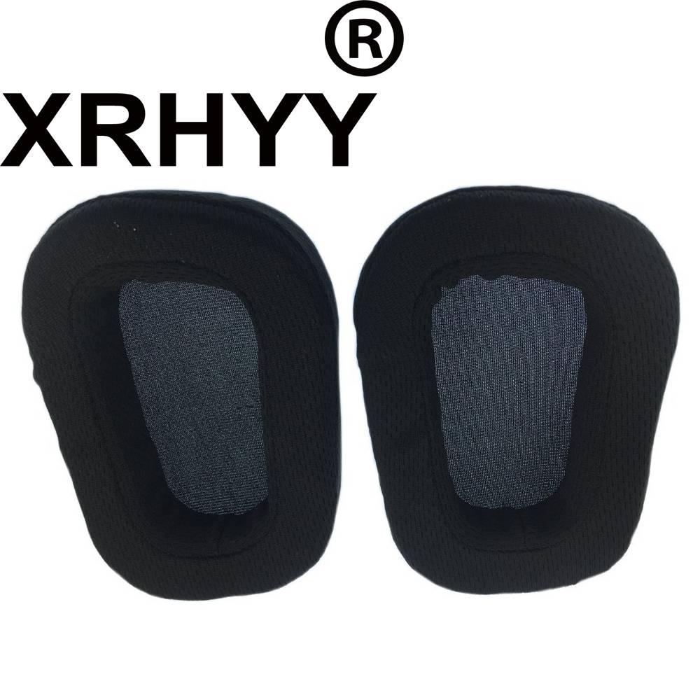 XRHYY Vervanging Comfort Oordopjes Kussen Voor Logitech G933 G633 Artemis Spectrum Surround Gaming H