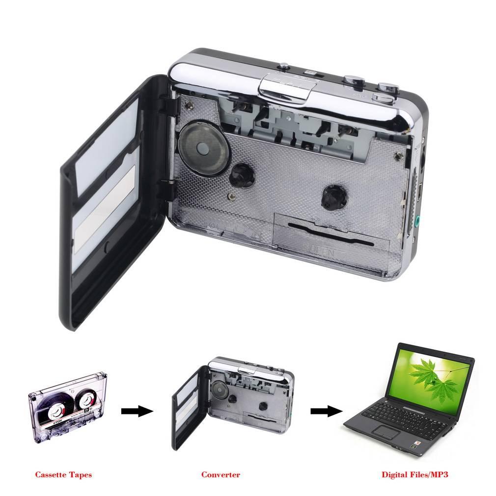 1 set Draagbare USB Cassette Player Capture Cassette Recorder Converter Digitale Audio Muziekspeler