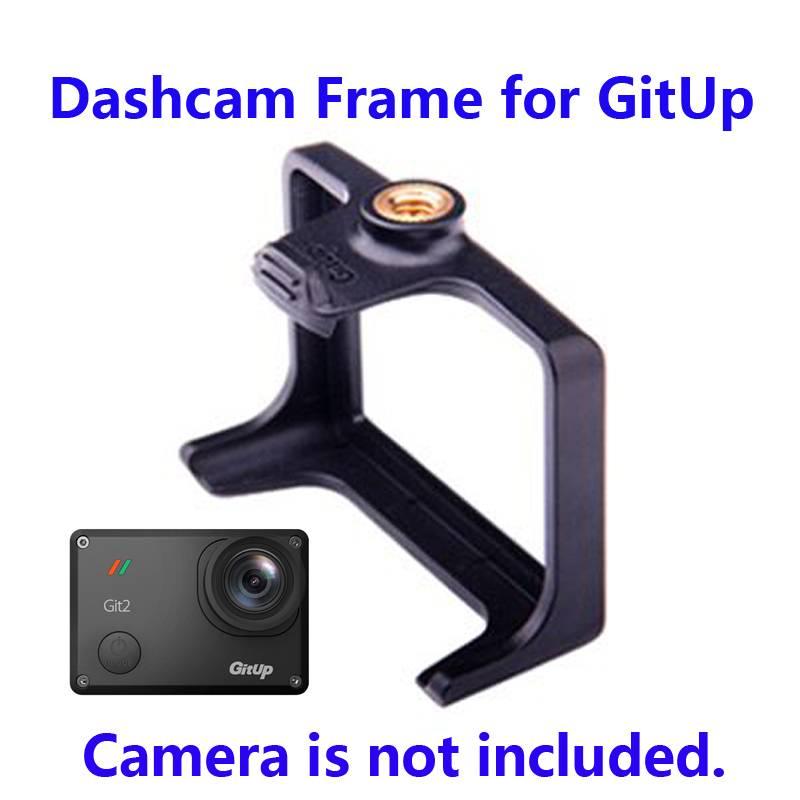 Gratis Verzendingdashcam frame voor gitup git1-git2 action camera