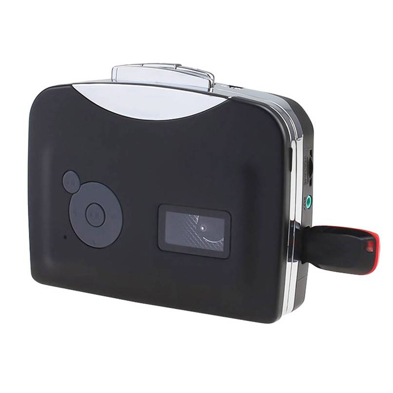 Cassette Speler Radio Speler Draagbare USB Cassette naar MP3 Converter Capture Audio Muziekspeler H0