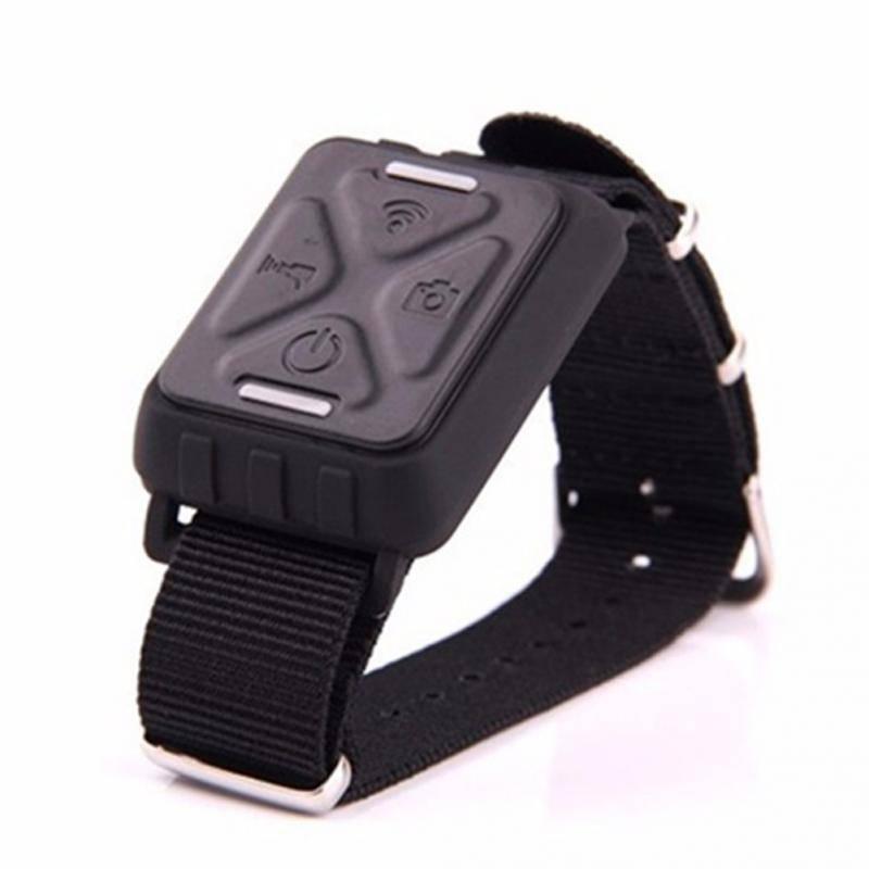 Draadloze Pols Afstandsbediening Horloge voor GitUp Git1-Git2 Sport Action Camera Accessoires Zwart