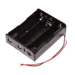 MyXL 5 stks/partij Plastic 18650 Batterij Box Houder Batterij Opbergtas Voor 3x18650 3.7 V Met Draad Leads