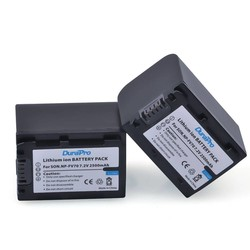 MyXL 2 Stks x DuraPro NP-FV70 NP FV70 Camera Batterij voor SONY HDR XR550E XR350E XR150E CX550E CX350E CX150E DCR-SR68E SX83E SX63E SX43E