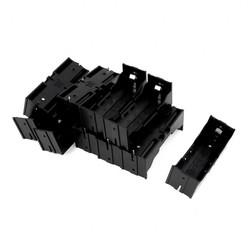 MyXL EDT-Plastic Enkele 26650 Batterij Houder Geval Opbergdoos 10 Stks Zwart