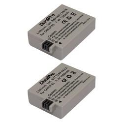 MyXL 2 Stks DuraPro LP-E5 Batterij Voor Canon 500D, 450D, 1000D, EOS Rebellent1i, XS, XSi, Kus X3, X2, Kiss F SLR Digitale Camera LPE5 LP E5