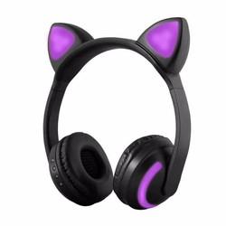 MyXL SOONHUA Kat Oor Hoofdtelefoon LED Oor Hoofdtelefoon Kat Oortelefoon Knipperende Glowing Headset Gaming Koptelefoon voor Volwassen en Kinderen