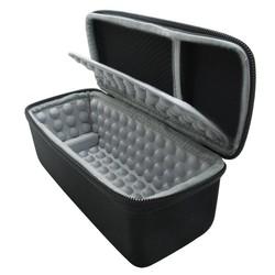 MyXL Hardshell EVA Opslag Carrying Reistas Zak voor JBL Flip 1/2/3/4 Splashproof Draagbare Bluetooth Speaker (zwart)