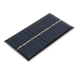 MyXL 5 stks/partij Zonnepaneel Draagbare Mini 6 V 1 W Sunpower DIY Module Panel Systeem Voor Solar Lamp Batterij Speelgoed telefoon Oplader 110*60mm