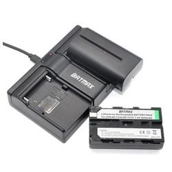 MyXL 2 Stks 2600 mAh NP-F550 NP-F530 NP-F570 NP F550 F570 Batterijen + Dual USB Oplader voor Sony CCD-SC55 CCD-TRV81 DCR-TRV210 MVC-FD81
