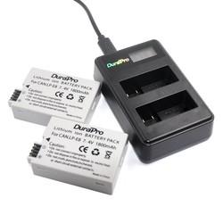 MyXL 2 st DuraPro LP-E8 Digitale Batterijen Ion LP E8 LPE8 Camera Batterij + LCD Dual USB Lader Voor Canon EOS 550D 600D 650D 700D
