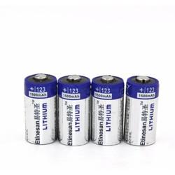 MyXL 4 stks/partij Etinesan1500mAh Lithium CR123A 3 V Lithium Foto Batterij EL123A CR17345 123 123a 3 Volt batterij