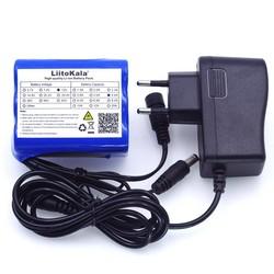 MyXL Liitokala 12 V 4.4 Ah 4400 mah 18650 oplaadbare batterij 12 V + PCB lithium accu bescherming boord + 12.6 V 1A Lader
