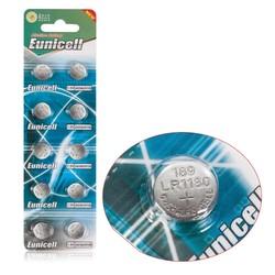 MyXL 10 Stks AG10 G10A SR1130 LR1130 390A D189 LR54 Alkaline Batterij Knoopcel