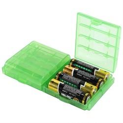 MyXL 10 dozen/lot Plastic Batterij Houder Box Container Voor AA En AAA Batterij Opbergdozen Case Cover Voor AA & AAA Batterij