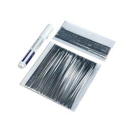MyXL Zonnecel Draad Strip Kit 20 m Tabben Draad PV Linten 2 m Bus Bar Draad Tape 1 Stks Flux Pen Voor DIY Zonnepaneel soldeer