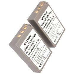MyXL 2 St 2000 mAh PS-BLS5 BLS-5 BLS5 BLS-50 BLS50 Batterij voor Olympus PEN E-PL2, E-PL5, E-PL6, E-PL7, E-PM2, OM-D E-M10, E-M10 II, Stylus1