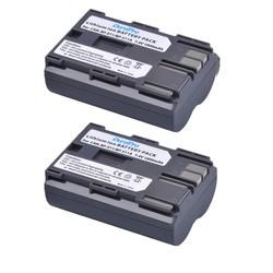 MyXL 2 stks DuraPro 7.4 V 1800 mAh Camera Batterij BP-511 BP 511 Batterijen voor Canon BP-511 BP-511A BP511 50D 40D 30D D60 D30 5D