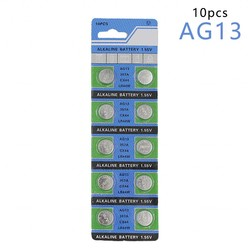 MyXL CentechiaKoop 10 Stks AG13 LR44 357A S76E G13 Button Knoopcelbatterij Batterijen 1.55 V Alkaline